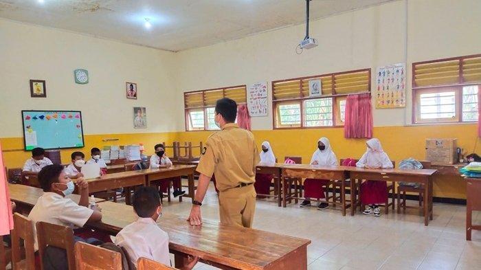 PTM Terbatas Bagi Siswa SD di Kulon Progo Masih Digelar di Wilayah Zona Hijau