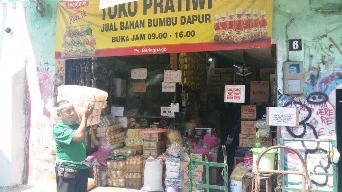 Terpengaruh Pandemi Corona, Usaha Sembako di Kota Yogyakarta Masih Sepi