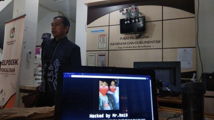 BREAKING NEWS: Situs KPU Bantul Diretas