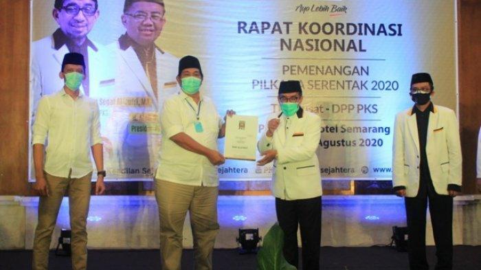 One Krisnata - Muhammad Fajri Resmi Terima SK dari DPP PKS, ORI Siap Tempur di Pilkada Klaten 2020