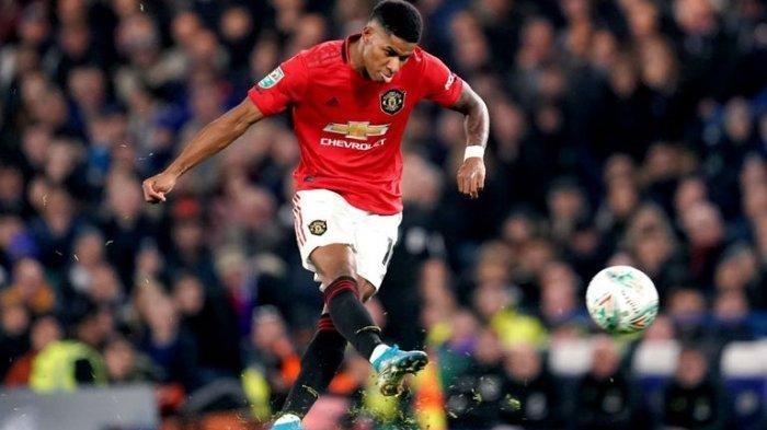 Skor Akhir Hasil Liga Inggris MU vs Brighton 3-1, Manchester United Tempel Arsenal di Klasemen
