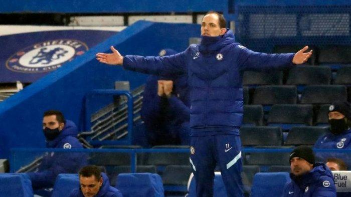 Thomas Tuchel saat Chelsea gagal menyarangkan gol