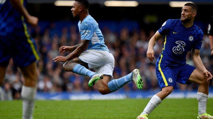 Skor Pemain Chelsea Dibanding Manchester City, Lukaku 6, Gabriel Jesus 8
