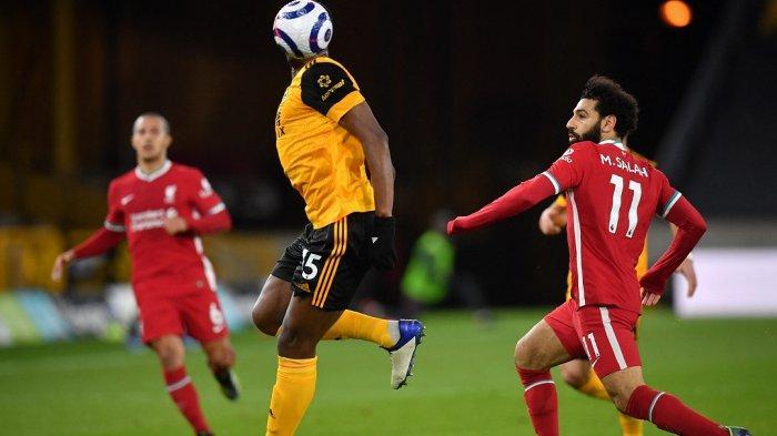 LIGA INGGRIS: Skor Pemain Liverpool Dibanding Wolverhampton Wanderers
