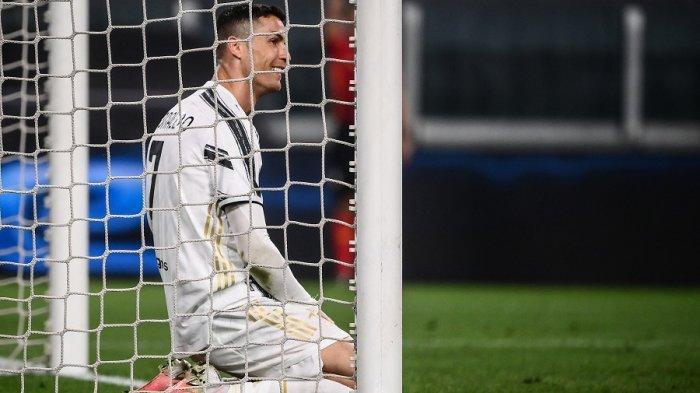 Cristiano Ronaldo saat Juventus lawan Parma