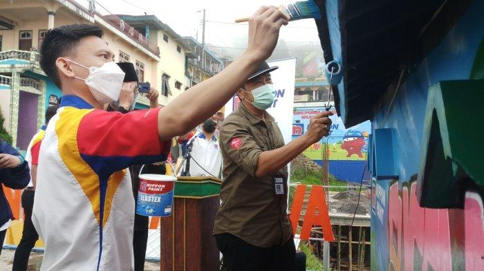 Dorong Kebangkitan Wisata Magelang, Bangunan di Nepal Van Java Dicat Ulang