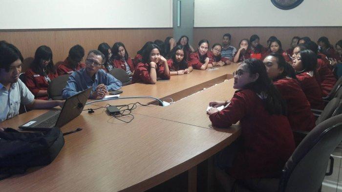 Humaniora Jurnalistik Van Lith Belajar ke Tribun Jogja