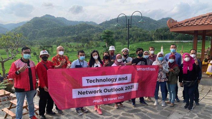 Smartfren Regional Jateng Selatan Perkuat Jaringan di Yogyakarta dan Sekitarnya Jelang Ramadhan