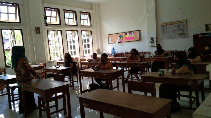 Besok, Lima Sekolah di Klaten Laksanakan Belajar Tatap Muka, Maksimal hanya 120 Siswa