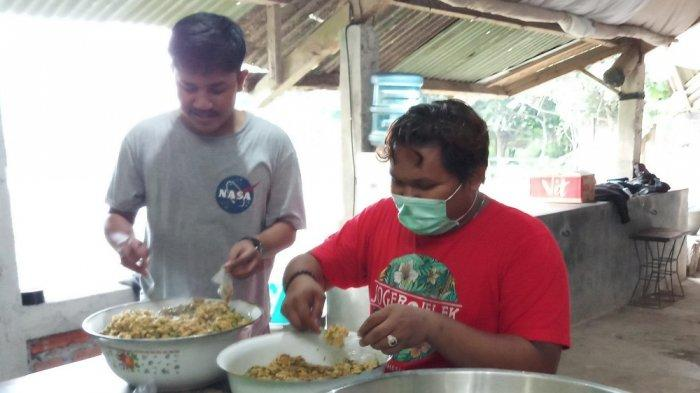 Solidaritas Pangan Jogja Bagikan Nasi Bungkus Gratis di Tengah Wabah Virus Corona