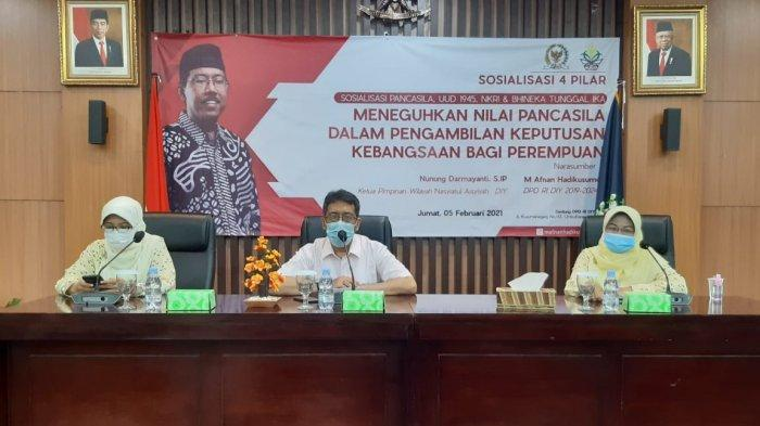 Anggota DPD RI Afnan Hadikusumo Paparkan Peran Perempuan Dalam Ketahanan Nasional