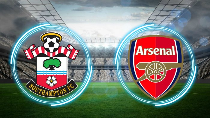 Siaran Langsung Southampton vs Arsenal Tayang Live Streaming BeIN SPORTS 1 Piala FA Pukul 19.15 WIB