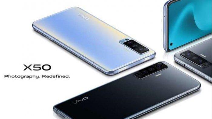SPESIFIKASI dan Harga HP Vivo X50 Terkini, Dibekali 8GB RAM + 128GB ROM