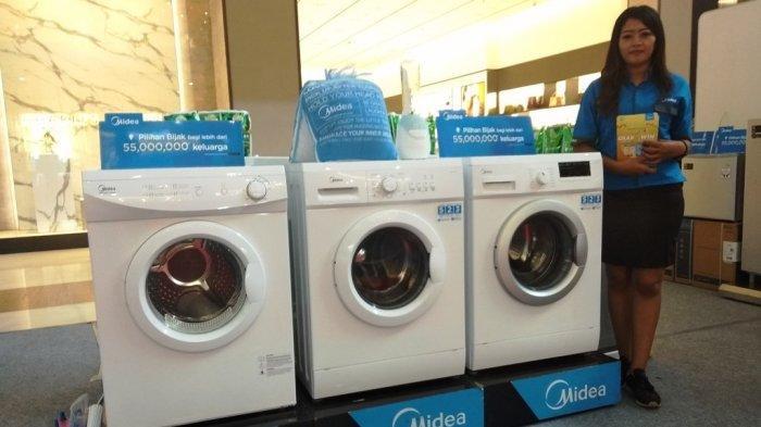 Midea Tawarkan Cashback Ratusan Ribu untuk AC dan Mesin Cuci