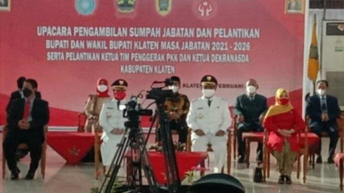 BREAKING NEWS : SAH! Sri Mulyani-Yoga Hardaya Resmi Dilantik Sebagai Bupati dan Wakil Bupati Klaten