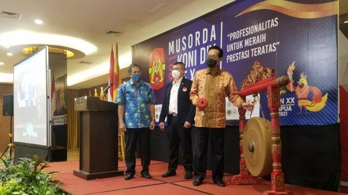 Terpilih Secara Aklamasi, Djoko Pekik Irianto Kembali Pimpin KONI DIY Periode 2021-2025