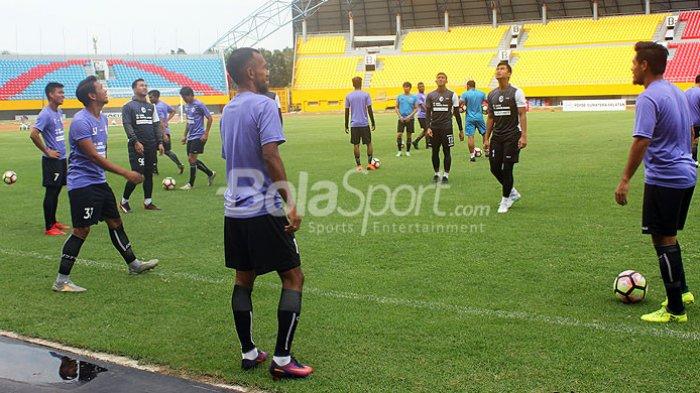 Sriwijaya FC Tunda Latihan Karena Tak Miliki Lapangan untuk Berlatih