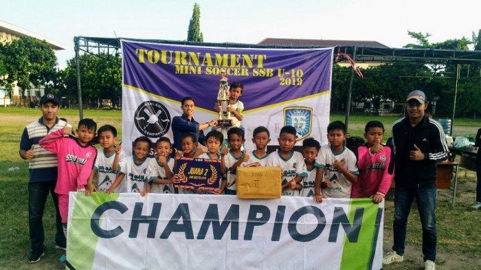 SSB Gama Yogyakarta Raih 3 Gelar di Mini Soccer U-10