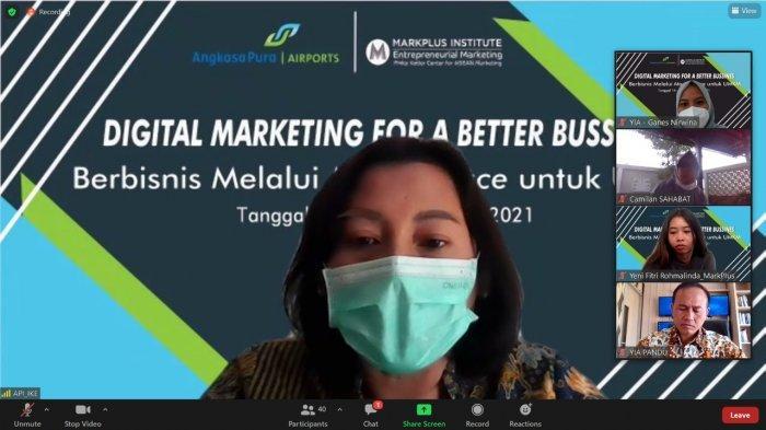 Berkomitmen Dukung Pengembangan UMKM, AP I Beri Pelatihan Digital Marketing Pada Mitra Binaan