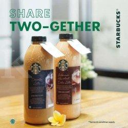 Asik! Promo Starbucks Share Two-Gether Periode 11-13 September 2020, Baru Mulai