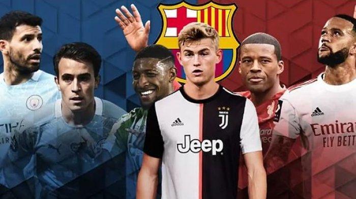 Strategi Transfer Barca di La Liga Spanyol, Rekrut Pemain Man City, Liverpool, Lyon