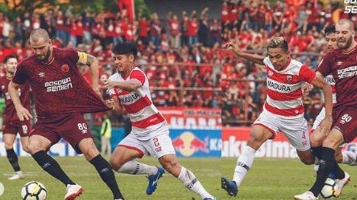 Streaming Indosiar Sedang Berlangsung! Madura United vs PSM Makassar di Liga 1 2019