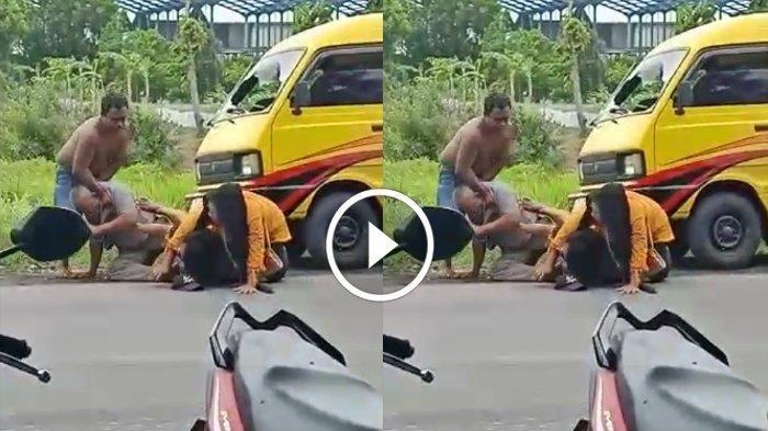 Emosi Suami Memuncak saat Lihat Istri Makan Semangkok Kikil dengan Pria Lain, Akhirnya Duel di Jalan