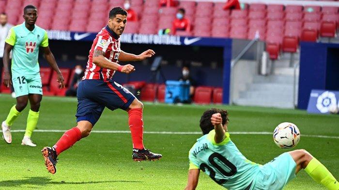 Jadi Pemain Penganti Menit ke-70 Suarez Cetak Dua Gol untuk Atletico Madrid
