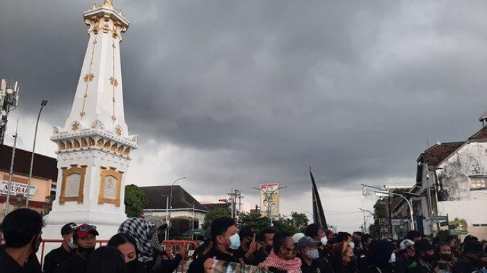 Forum Komunikasi Ormas dan Relawan DIY Gelar Aksi Kecam Teror Bom Makassar dan Mabes Polri