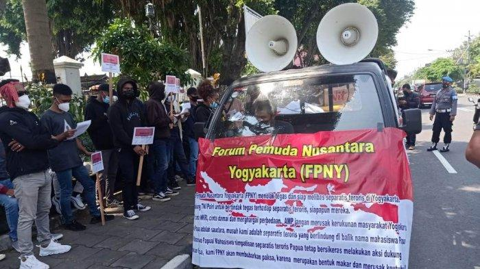 Forum Pemuda Nusantara Yogyakarta Gelar Aksi Damai, Tolak Separatisme di Papua