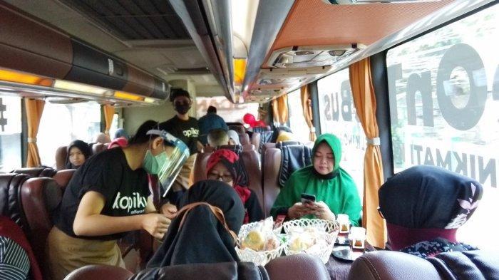 Coffe On The Bus, Menikmati Kopi di dalam Bus Sambil Berkeliling Kota Yogyakarta