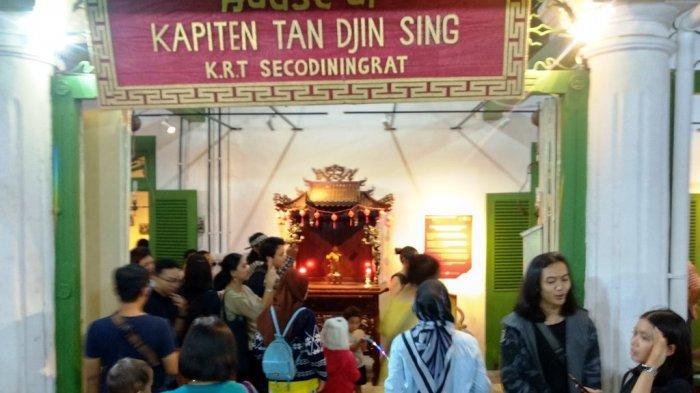 Rumah Tan Jin Sing Dipadati Pengunjung PBTY