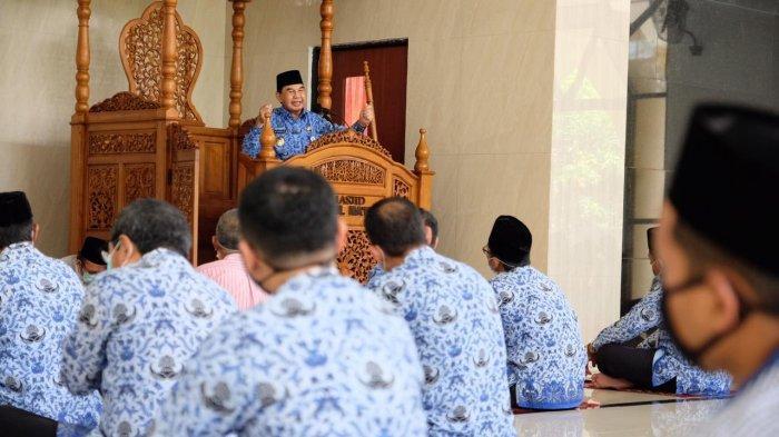 Hikmat Peringatan Isra Miraj di Masjid Baitul Ma'mur Pemkot Magelang