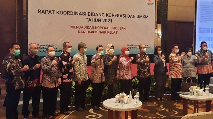 Gelar Rakor di Yogyakarta, Kemenkop UKM Dorong UMKM 'Naik Kelas'