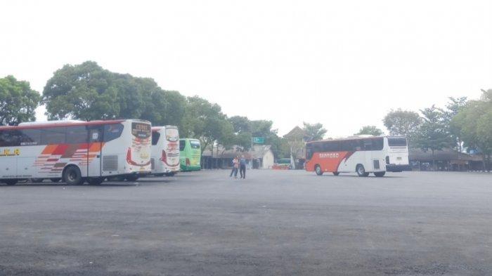 Jelang Larangan Mudik Lebaran, Gelombang Pemudik di Terminal Tidar Kota Magelang Masih Landai
