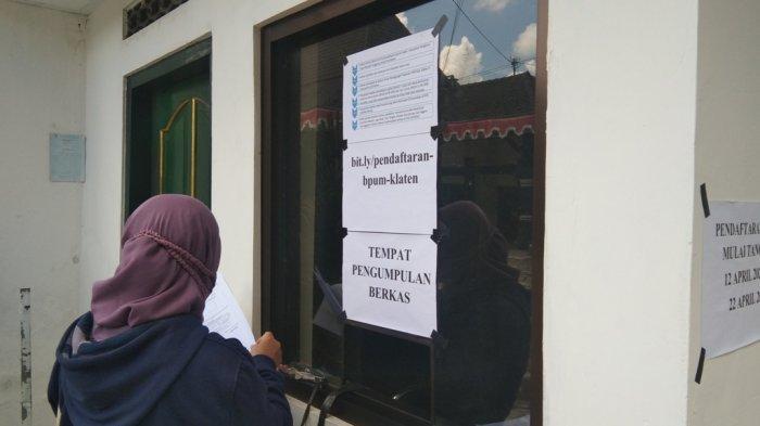 Sudah 3.000 Pelaku UMKM Ajukan Bantuan BPUM ke Disdagkop UKM Klaten