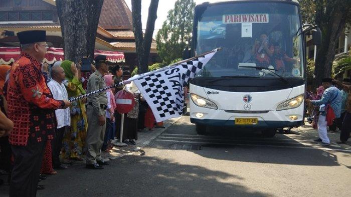 Suharsono Lepas Keberangkatan 351 Calon Haji Asal Bantul
