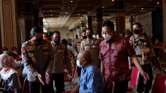 Sukseskan Vaksinasi Nasional TNI-Polri, SCH jadi Tuan Rumah Vaksinasi Covid-19 Massal