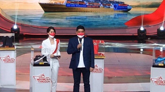 Telkom Donasikan Rp1 Miliar Melalui Lelang Sepatu Apriyani untuk Dukung Kapal Isoman Terapung