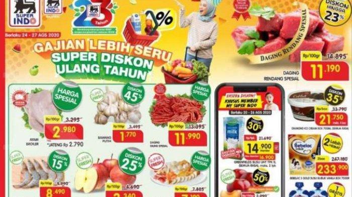 Promo Superindo Periode 24 27 Agustus 2020 Masih Ada Tribun Jogja