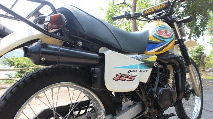 Motor 'Garuk Tanah' Sang Ikonik Suzuki TS125 - suzuki-ts-125-berkelir-kuning-koleksi-bilal-bento.jpg