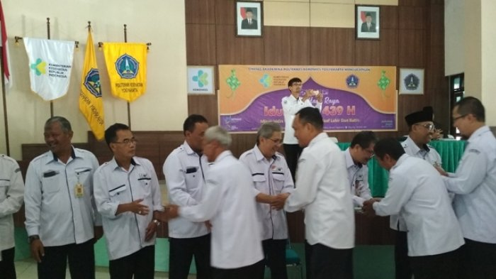 Poltekkes Kemenkes Yogyakarta Gelar Syawalan bagi Civitas Akademika