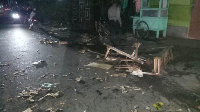 Tabrakan Gerobak Satai di Jalan Letjend Suprapto Yogyakarta Berakhir Damai dan Ganti Rugi Rp2,5 Juta