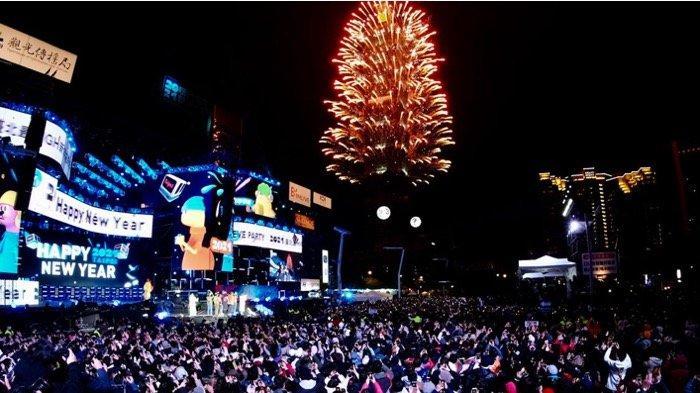 Perayaan Tahun Baru 2021 di Taiwan