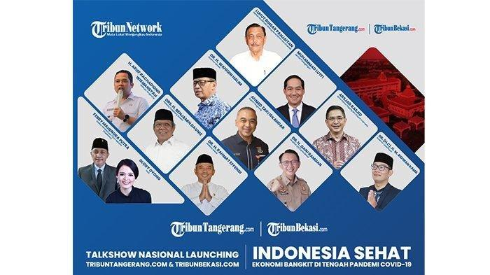 Talk Show Peluncuran TribunBekasi.com dan TribunTangerang.com Hadirkan Menteri dan 7 Kepala Daerah