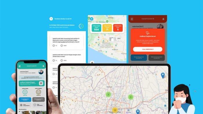 Aplikasi Cared+, Inovasi Monitoring Kolektif Kondisi Masyarakat Guna Menekan Covid-19
