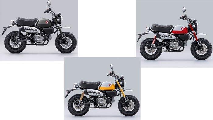 Tampilan Baru Honda Monkey Makin Nyentrik dan Ciamik, Ada 3 Pilihan Warna