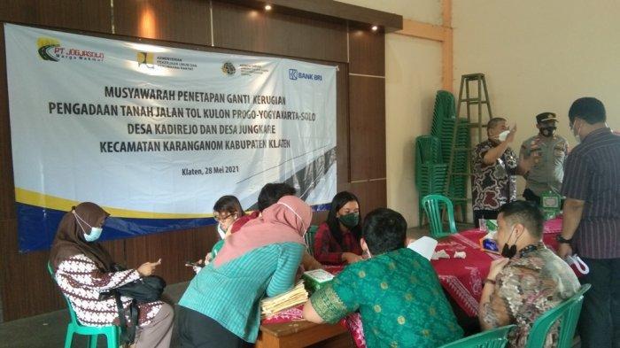 Tanah terdampak Tol Yogyakarta-Solo, Warga 2 Desa di Karanganom Klaten Bakal Diguyur Rp 51 Miliar