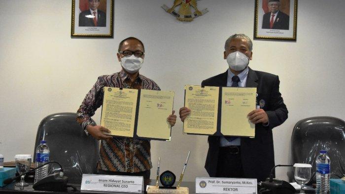 Tandatangani Nota Kesepahaman, Bank Syariah Indonesia dan UNY Bangun Sinergi