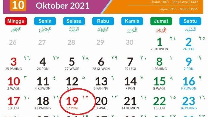 Tanggal Merah Maulid Nabi Muhammad 2021 19 Oktober atau 20 Oktober? Berikut Keputusan Pemerintah